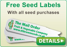 Free Seed Labels with all seed purchases